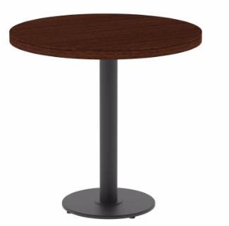 Стол Порто круг d=800x25 мм цвет венге столешница ЛДСП