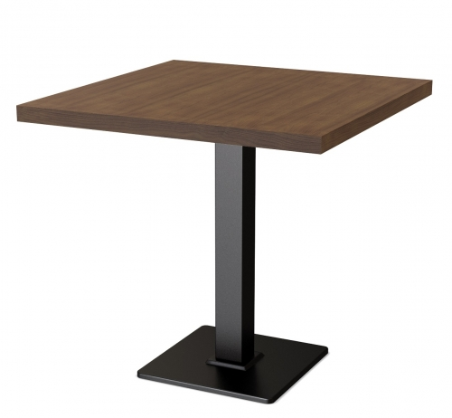 Стол Порто 800x800x25 цвет Венге столешница ЛДСП