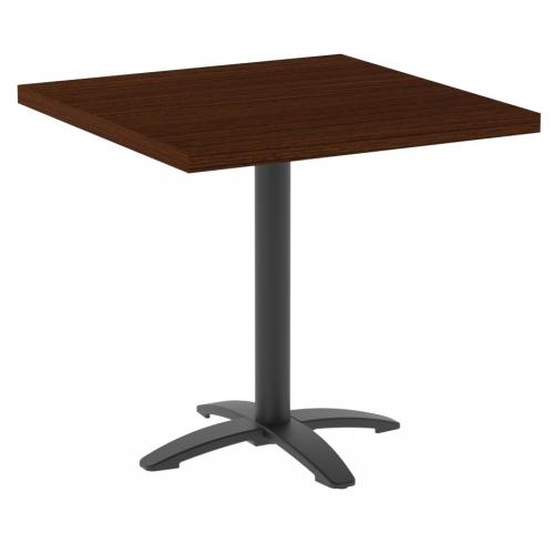 Стол Рим 800x800x25 цвет венге столешница ЛДСП