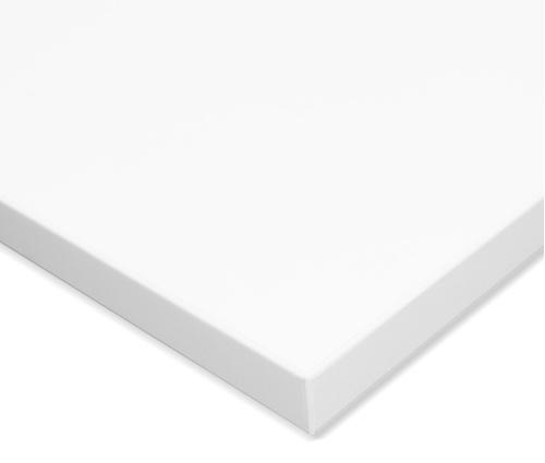 Столешница ЛДСП 1200x800x25 цвет белый